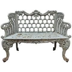Victorian Iron Bench