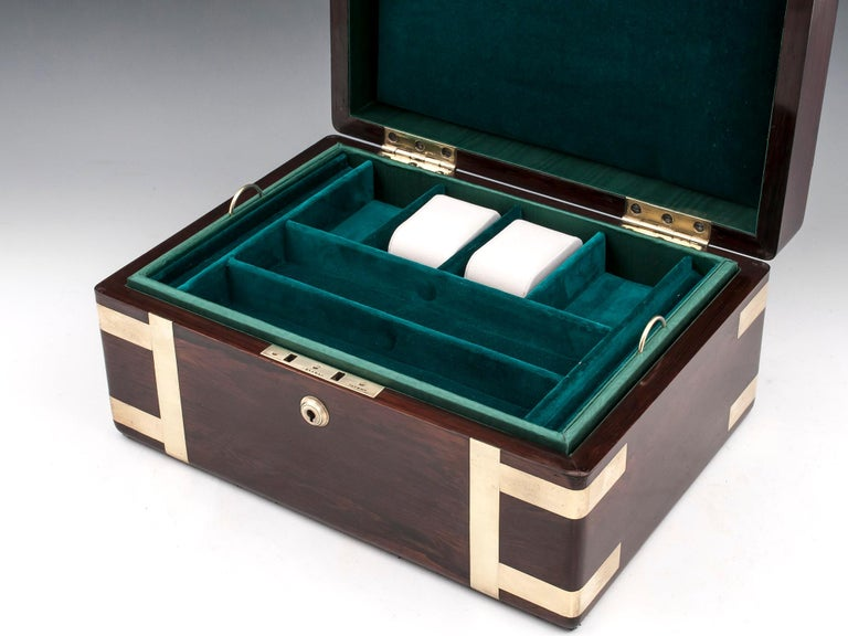 Victorian Jewelry Box, 19th Century For Sale 6