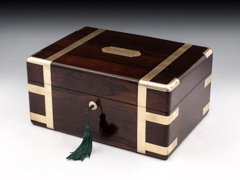 Victorian Jewelry Box, 19th Century For Sale 10