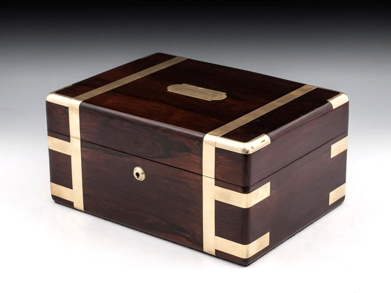 Victorian Jewelry Box, 19th Century In Good Condition For Sale In Northampton, United Kingdom