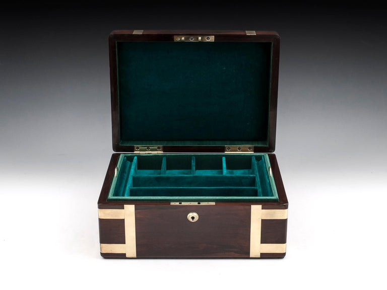 Victorian Jewelry Box, 19th Century For Sale 1
