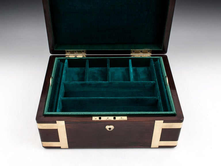 Victorian Jewelry Box, 19th Century For Sale 2