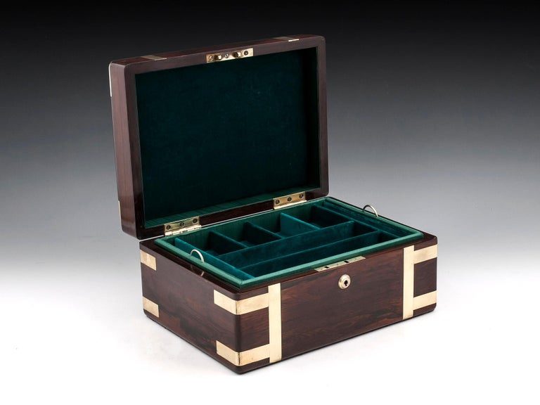 Victorian Jewelry Box, 19th Century For Sale 3