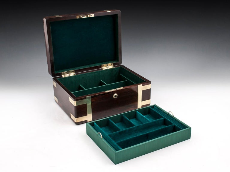 Victorian Jewelry Box, 19th Century For Sale 4