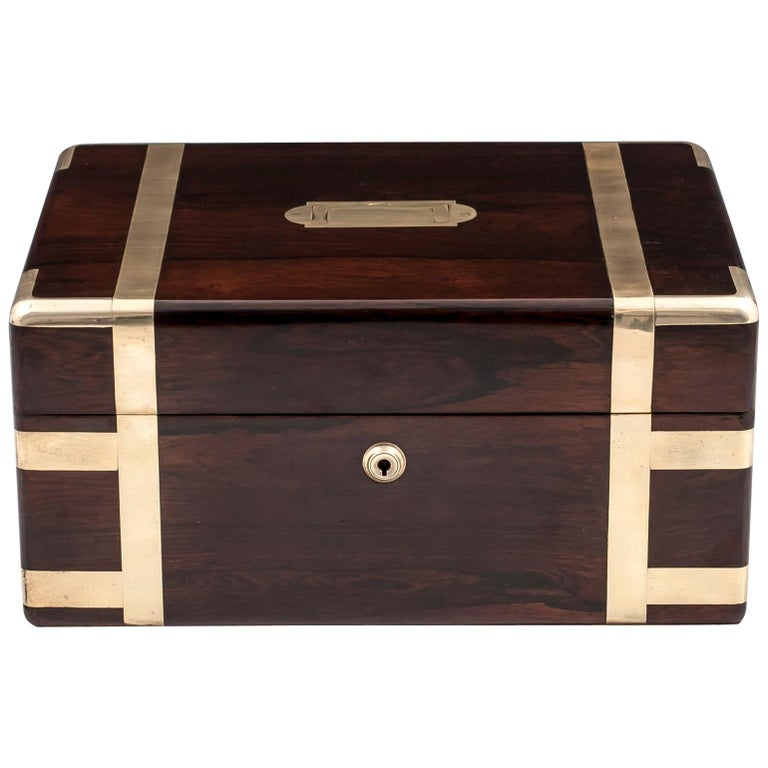 Victorian Jewelry Box, 19th Century For Sale