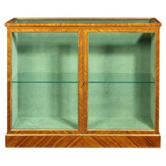 Victorian Kingwood Display Cabinet in French Taste