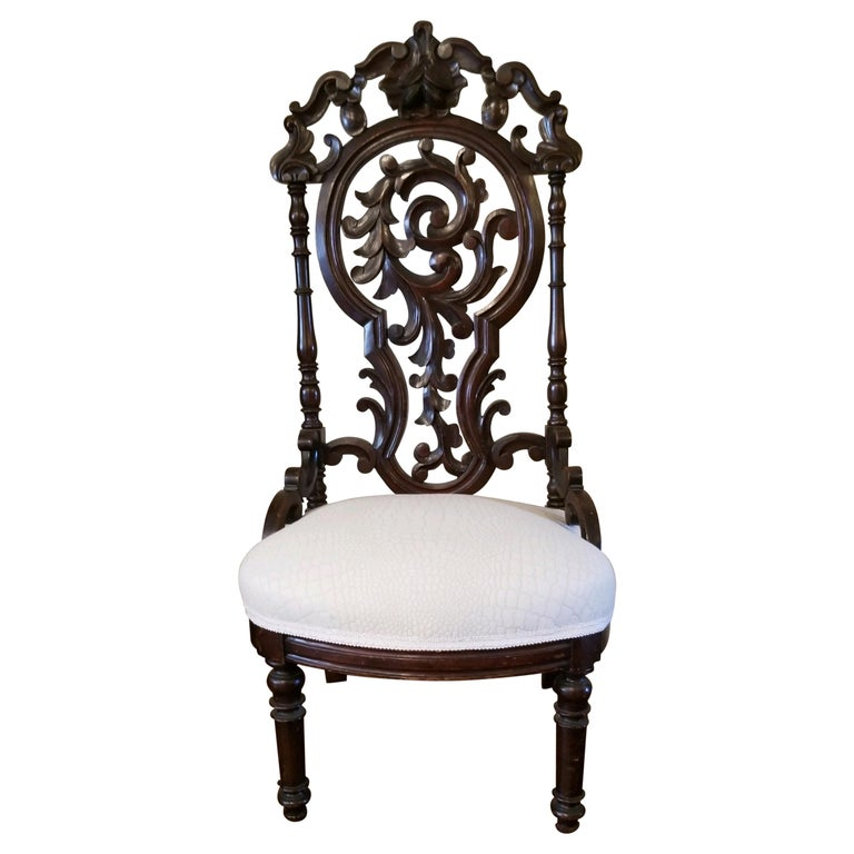Victorian Ladies Chair For Sale