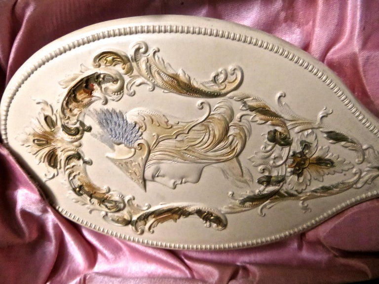 Victorian Lady's Necessaire Table Top Toiletry Box, American, circa 1900 For Sale 9