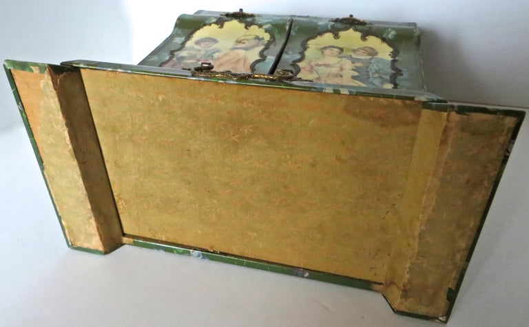 Victorian Lady's Necessaire Table Top Toiletry Box, American, circa 1900 For Sale 14