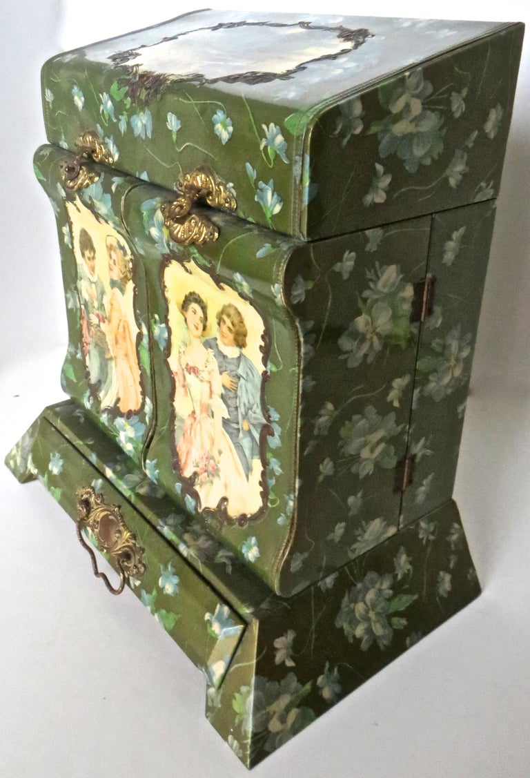 Victorian Lady's Necessaire Table Top Toiletry Box, American, circa 1900 For Sale 1
