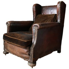 Victorian Leather Club Chair