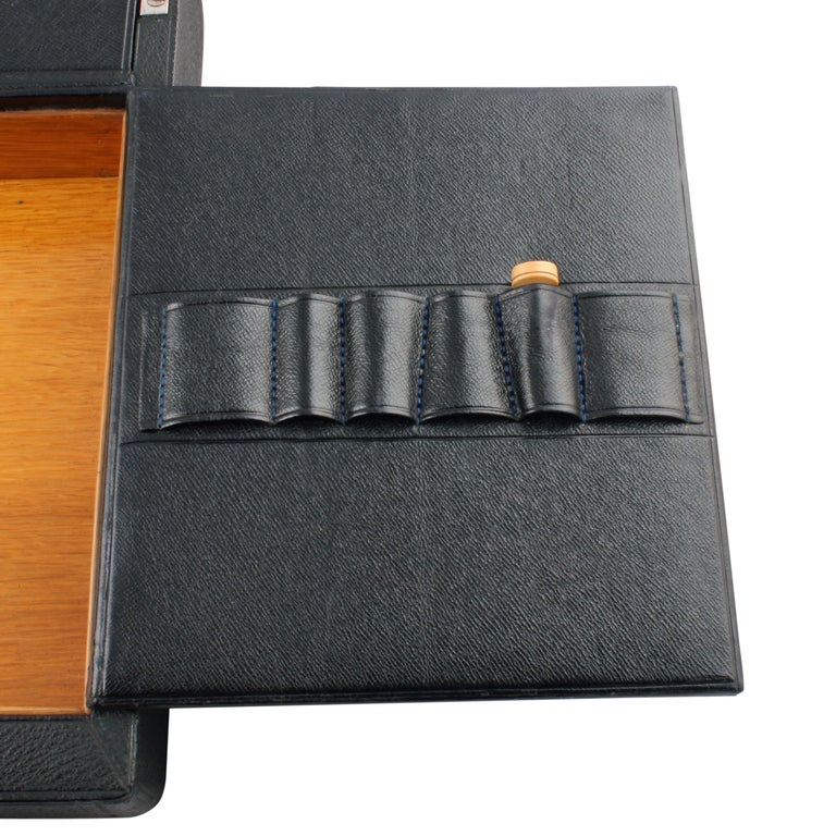 Victorian Leather Stationery Box For Sale 2