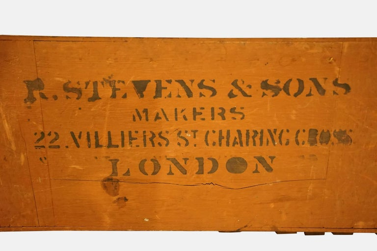 20th Century Victorian Life Pool Scoreboard by R Stevens For Sale