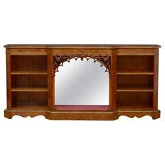 Victorian Low Bookcase in Walnut