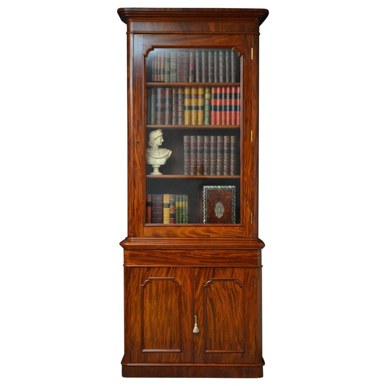 Victorian Mahogany Bookcase For Sale At 1stdibs