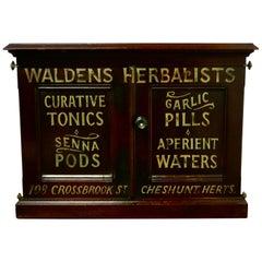 Victorian Mahogany Chemist's Cupboard