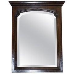 Victorian Mahogany Dressing Table or Wall Mirror Nice Grand Frame English Made