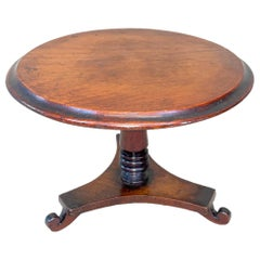 Victorian Mahogany Miniature Centre Table