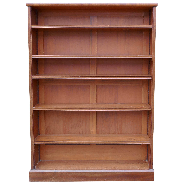 Victorian Mahogany Open Book Case