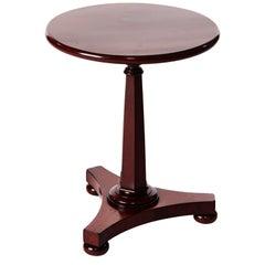 Victorian Mahogany Round Lamp Table