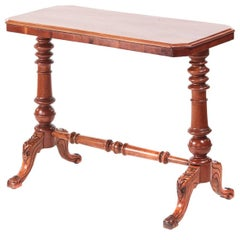 Victorian Mahogany Side / Lamp Table