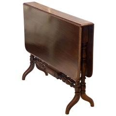 Victorian Mahogany Sutherland Table, circa 1890