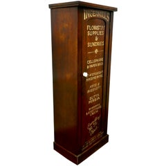 Victorian Mahogany Tall Shelved Shop Cupboard