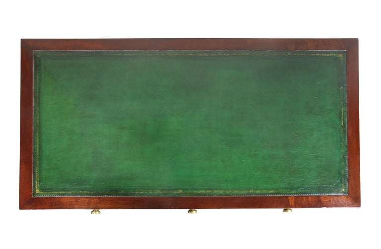 English Victorian Mahogany Writing Table from Windsor Castle For Sale