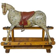 Victorian Naïve Rocking Horse