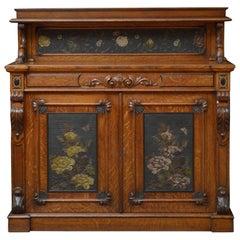 Victorian Oak Chiffonier