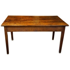 Victorian Oak Farmhouse Kitchen Table