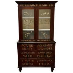 Victorian Painted Pine Kitchen Cupboard