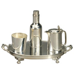 Victorian Period Mappin Brothers Silver Plated Condiments Set