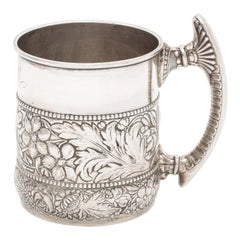 Victorian Period Sterling Silver Mug/Cup by Gorham