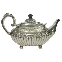 Victorian Period Sterling Silver Teapot
