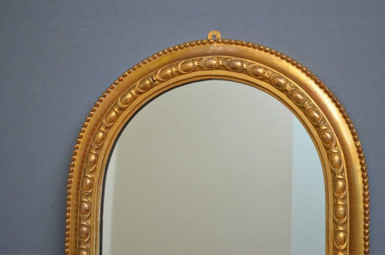 Late 19th Century Victorian Pier Mirror For Sale