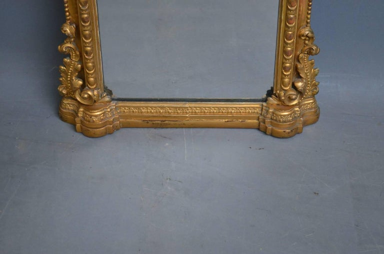 Victorian Pier Mirror For Sale 2