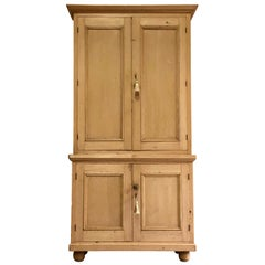 Victorian Pine Housekeepers Cupboard Pantry Antique, 19th Century, circa 1890