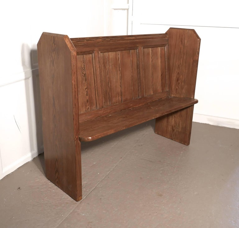 Victorian Pine Kitchen Bench Or Church Pew For Sale At 1stdibs