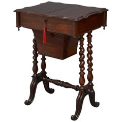 Victorian Rosewood Work Table
