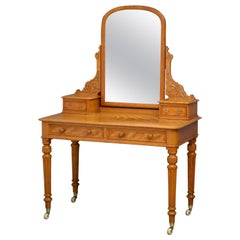 Victorian Satin Dressing Table