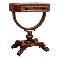 Victorian Sewing Table, circa 1850