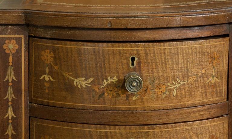 Victorian Sheraton Revival Mahogany Bonheur Du Jour For Sale 5