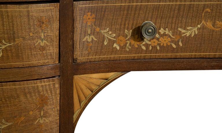 Victorian Sheraton Revival Mahogany Bonheur Du Jour For Sale 6