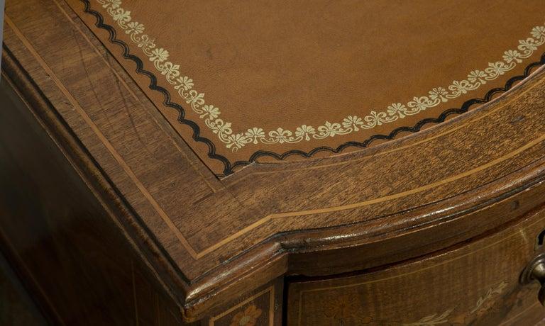 Victorian Sheraton Revival Mahogany Bonheur Du Jour For Sale 7
