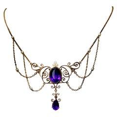 Victorian Drop Necklaces
