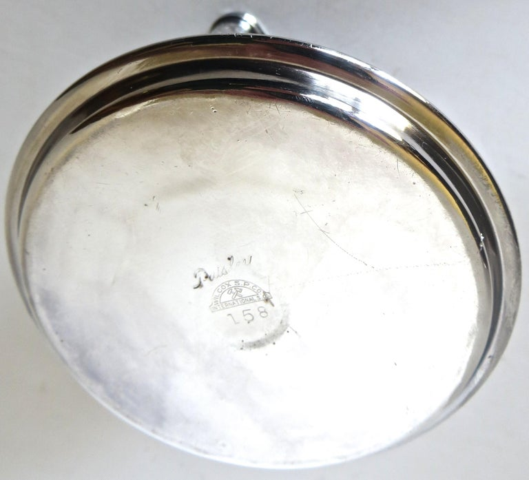 Late 19th Century Victorian Silver Plate Match Holder, American, circa 1898 For Sale
