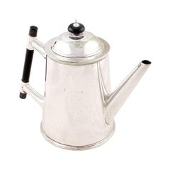 Victorian Silver Plated Tea Pot, 19th Century