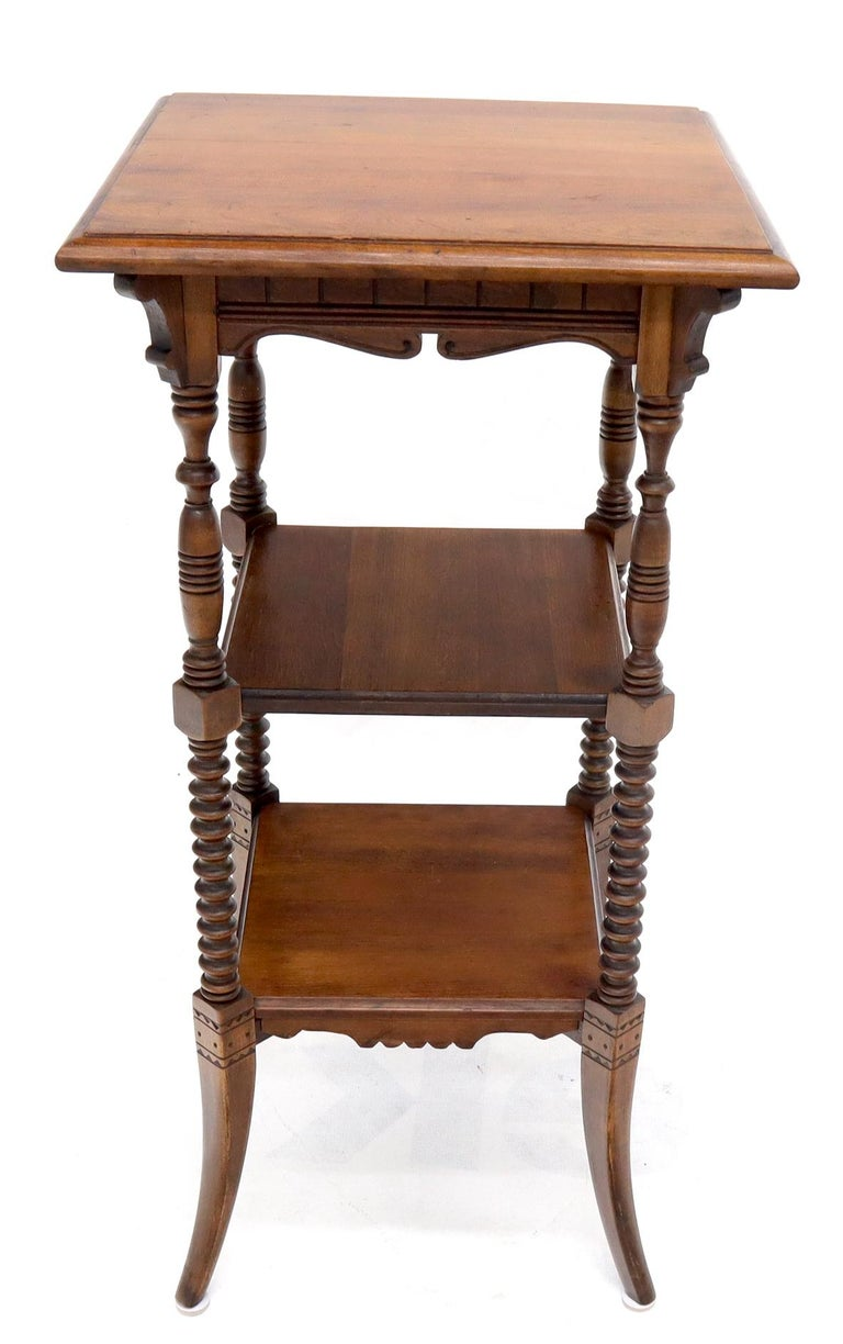 Nice shape and proportions Victorian stand in very good structural and cosmetic condition.