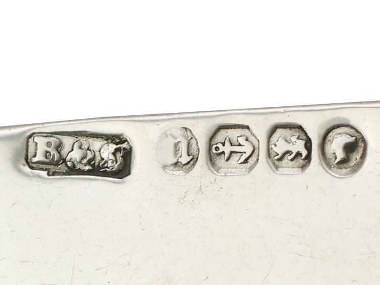 Victorian Sterling Silver and Erotica Enamel Vesta Case For Sale 5